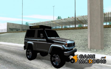 Toyota Machito 2009 Semi Off Road for GTA San Andreas