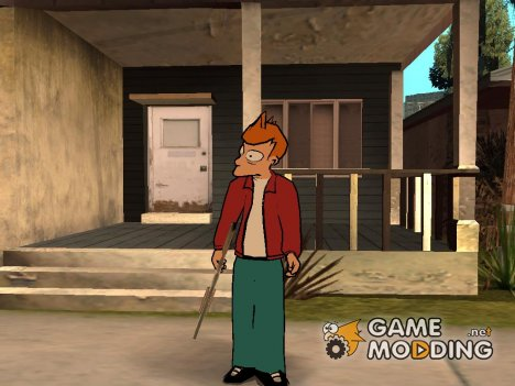Philip J. Fry A from Futurama for GTA San Andreas