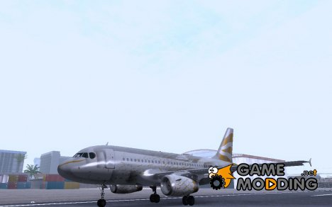 Airbus A319 British Airways Olympic Dove for GTA San Andreas