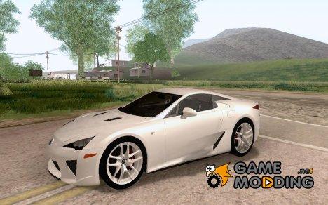 Lexus LFA (US-Spec) 2011 для GTA San Andreas
