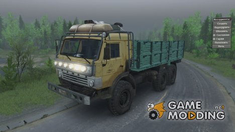 КамАЗ 43114 for Spintires 2014