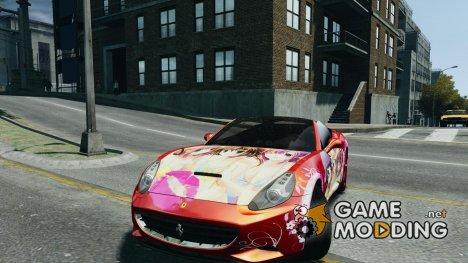 Ferrari California DC Texture for GTA 4