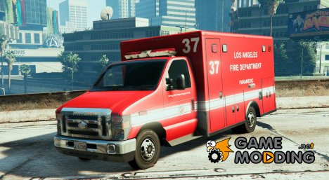 Ford E450 LAFD Ambulance 4K для GTA 5