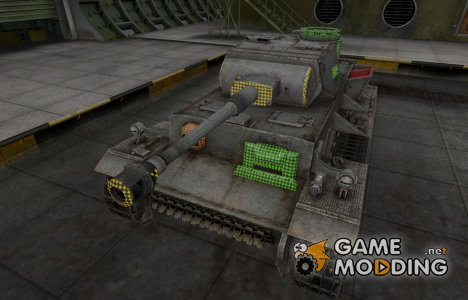 Зона пробития VK 36.01 (H) for World of Tanks