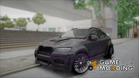 BMW X6M HAMANN Final для GTA San Andreas