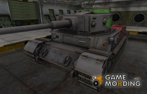 Зона пробития PzKpfw VI Tiger (P) for World of Tanks