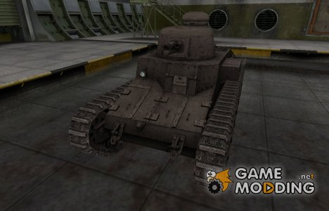 Перекрашенный французкий скин для D1 для World of Tanks