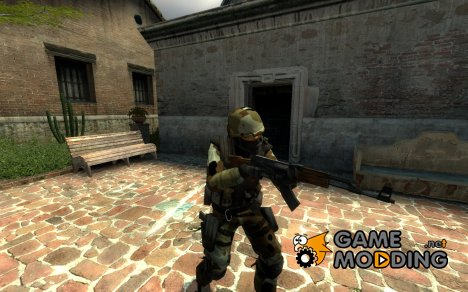 New Desert Camo CT for Counter-Strike Source