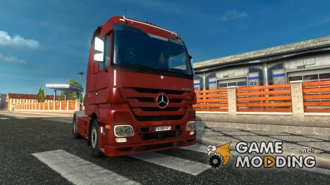 Mercedes-Benz Actros MP3 rework v.1.1 for Euro Truck Simulator 2