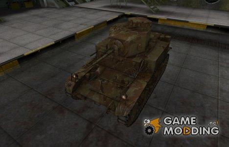 Американский танк M3 Stuart for World of Tanks