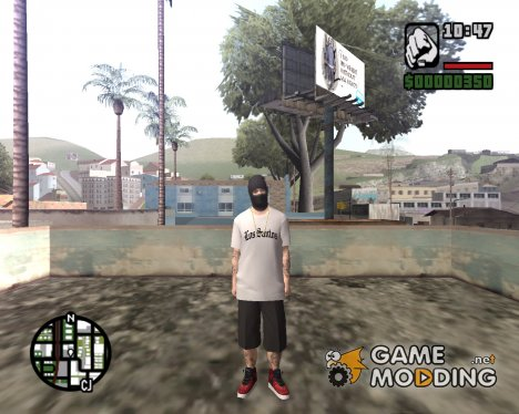 Бандит в маске for GTA San Andreas
