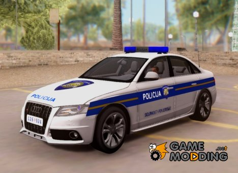 Audi S4 - Croatian Police Car для GTA San Andreas
