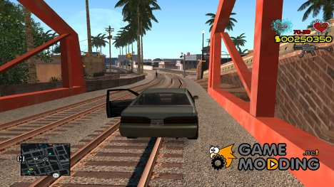 C-HUD by Alex Castle для GTA San Andreas