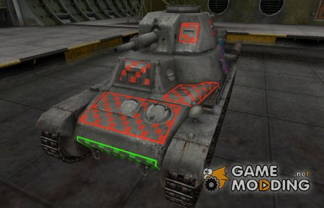 Качественные зоны пробития для PzKpfw 38H 735 (f) for World of Tanks