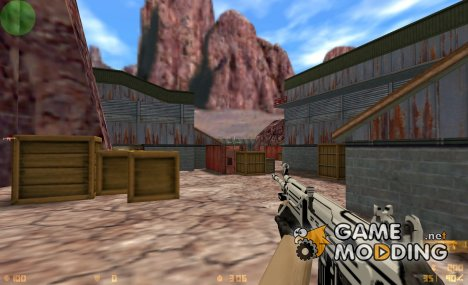 Galil Black and White для Counter-Strike 1.6