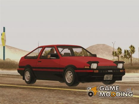 Toyota Sprinter Trueno (AE86) for GTA San Andreas