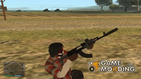 Assault Rifle GTA 5 для GTA San Andreas