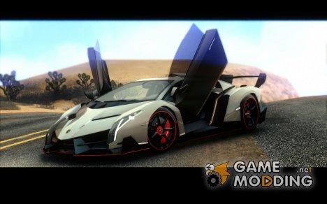 Lamborghini Veneno LP750-4 для GTA San Andreas