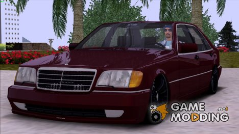 Mercedes-Benz S600 W140 V12 Full 3D for GTA San Andreas