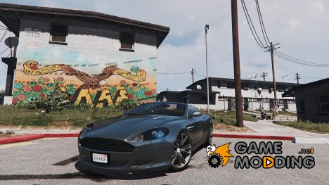 Aston Martin DB9 Volante 1.3 for GTA 5