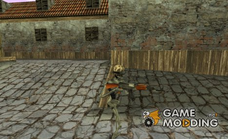 GSG9 > Combatant Skeleton для Counter-Strike 1.6