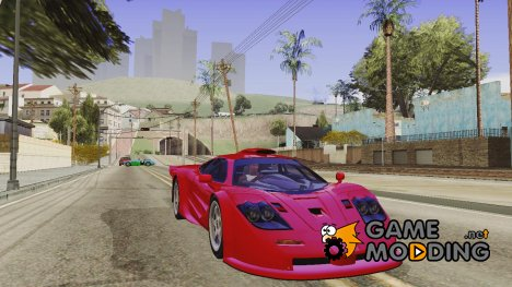 McLaren F1 GTR TT Black Revel for GTA San Andreas