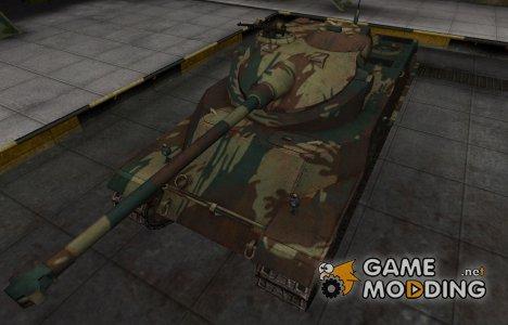 Французкий новый скин для AMX 50 100 for World of Tanks