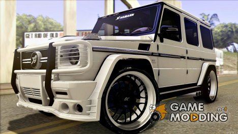 Mercedes Benz - G65 Hamann Tuning (E-Design) для GTA San Andreas