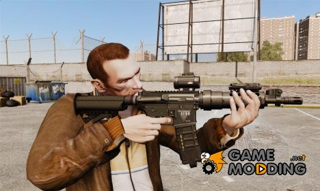 Тактическая M4 v1 для GTA 4