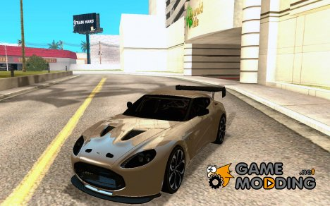 Aston Martin V12 Zagato Final для GTA San Andreas