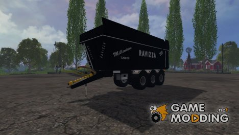 Ravizza Millenium 7200 for Farming Simulator 2015