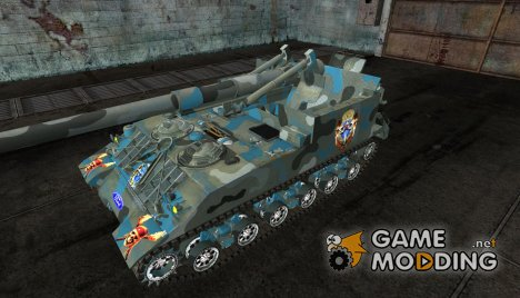 Шкурка для M40M43 for World of Tanks