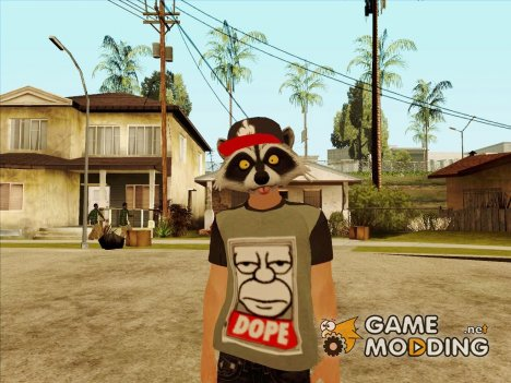 Raccoon SWAG HD GTA Online для GTA San Andreas