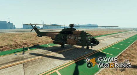 Eurocopter AS-332 Super Puma GTA V для GTA 5