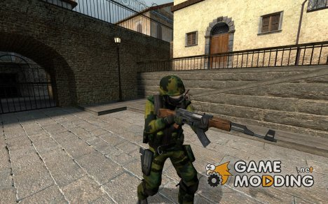 Digital Woodland Camo CT для Counter-Strike Source
