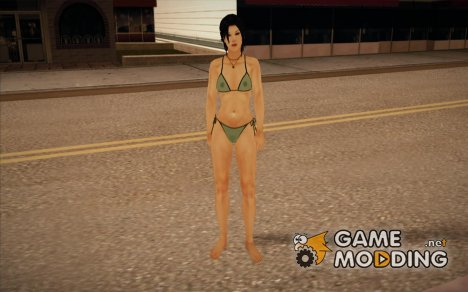 Green Bikini for GTA San Andreas