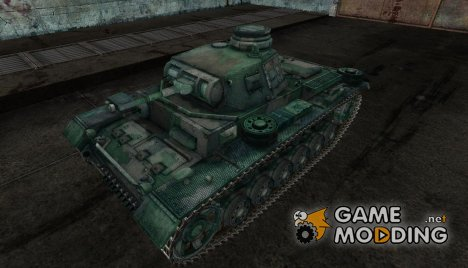 PzKpfw III 02 для World of Tanks