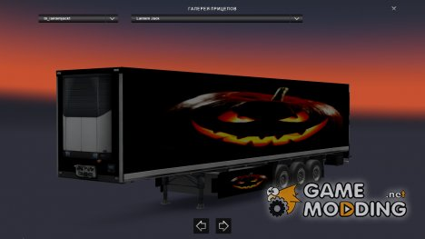 Трейлер Lantern Jack для Euro Truck Simulator 2
