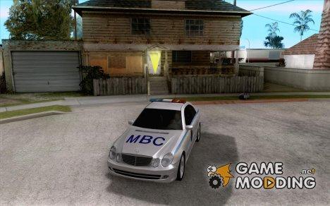 MERCEDES BENZ E500 w211 SE Police Украина for GTA San Andreas