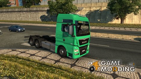 MAN TGX v1.4 for Euro Truck Simulator 2