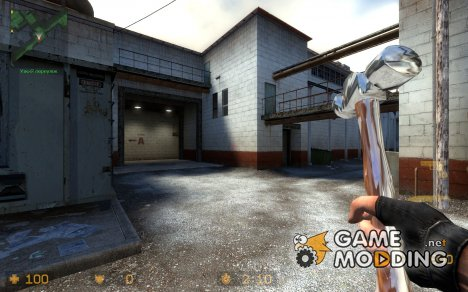 Ballhead Hammer Knife (With Sounds) для Counter-Strike Source