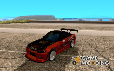 Nissan Silvia S15 Red Msport for GTA San Andreas