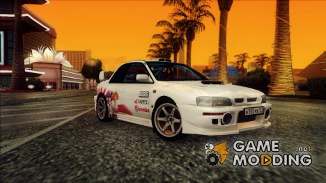 Subaru Impreza 22B STI - Itasha for GTA San Andreas