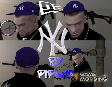 "Кепка ""New York Yankees"" для GTA 4"