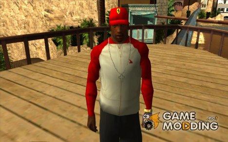 Кепка ferrari for GTA San Andreas