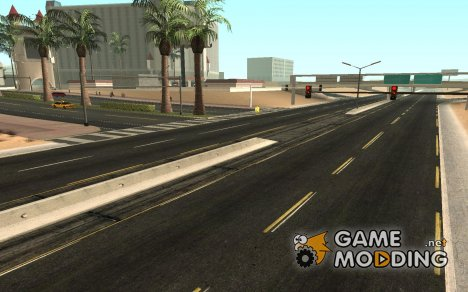 Modern Day Las Venturas Road Texture for GTA San Andreas