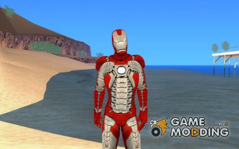 Iron man MarkV for GTA San Andreas