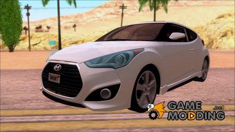 Hyundai Veloster Autovista 2012 for GTA San Andreas
