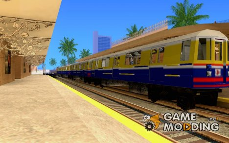 Liberty City Train Italian для GTA San Andreas