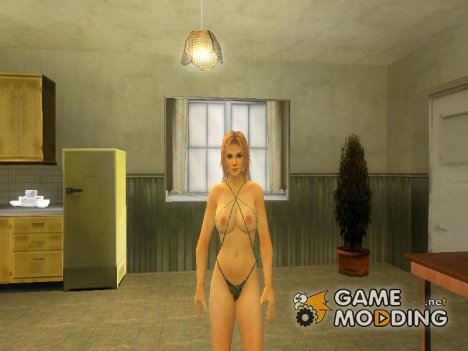 Tina in a real string bikini for GTA San Andreas